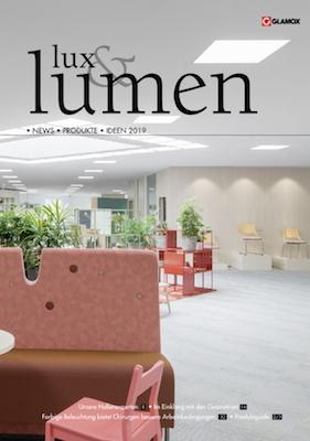 Neuer Glamox Hauptkatalog lux&lumen 2019 jetzt verfügbar