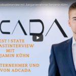ADCADA Chef Benjamin Kühn im Podcast-Gespräch mit Jürgen Zwickel