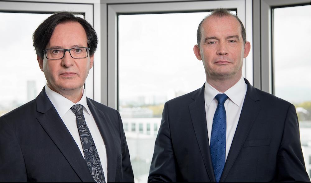 Paul Hüttig und Ditmar Rompf (v.l.), Vorstände der Hüttig & Rompf AG – Foto: Hüttig & Rompf AG