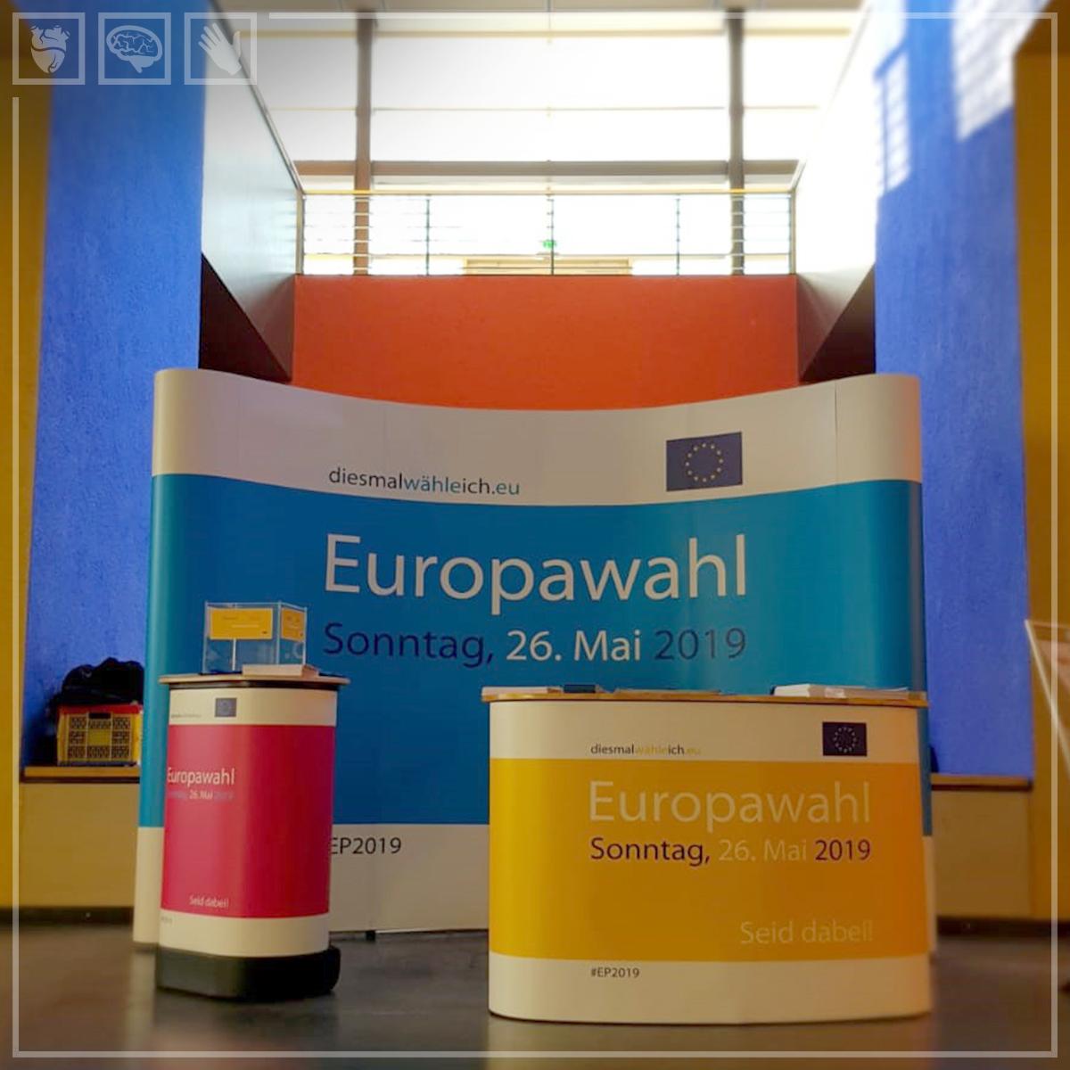Informationsstand zur Europawahl 2019
