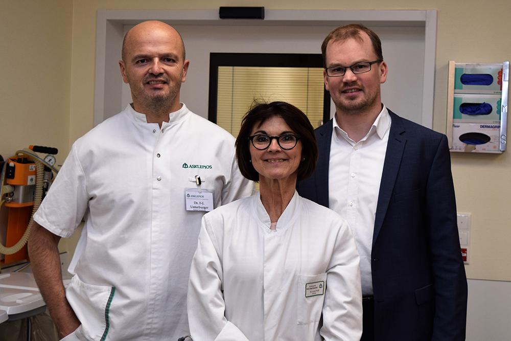 Anästhesie und Intensivmedizin an der Asklepios Orthopädische Klinik Lindenlohe: Dr. Astrid Wolf zur Oberärztin ernannt