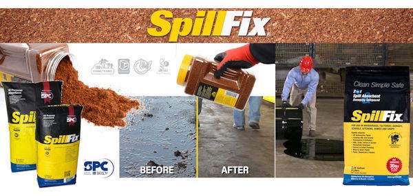SpillFix Universal-Bindemittel für Öl und andere Flüssigkeiten