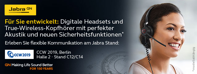 Jabra auf der Call Center World 2019