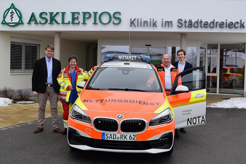 Thomas Diegel, Dr. Veronika Kellner, Stephan Habich und Felix Rauschek (Foto: Bernhard Krebs)