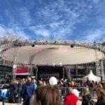 Magic Sky bei der Eröffnung des Rotteckrings in Freiburg