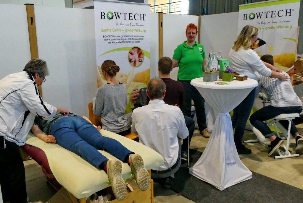Sanfte Bowtech-Griffe überzeugen Besucher der fairgoods in Freiburg