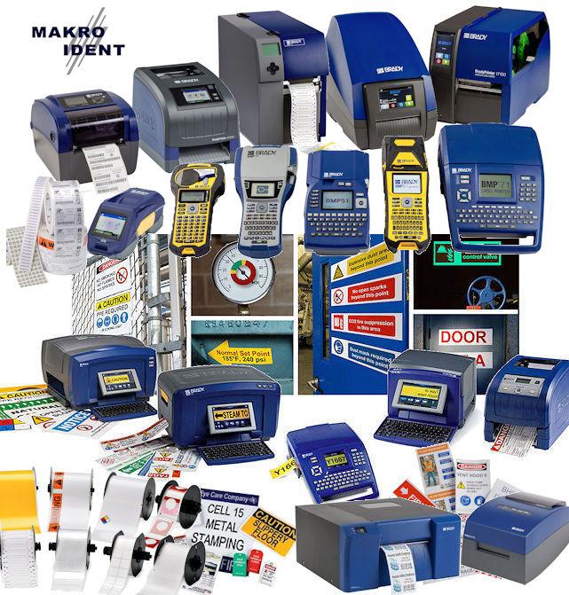 Alle-Brady-Drucker Brady Etikettendrucker für alle anfallenden Kennzeichnungen
