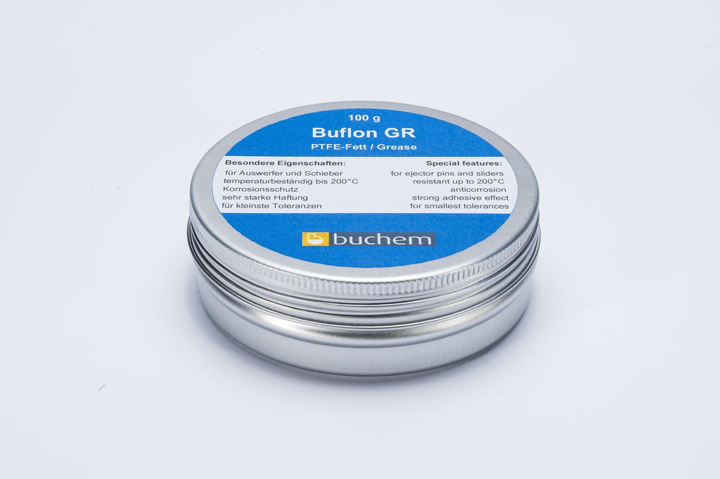 Vollsynthetisches PTFE-Fett Buflon GR. Spezialfett für Kunststoffspritzguss von Buchem Chemie