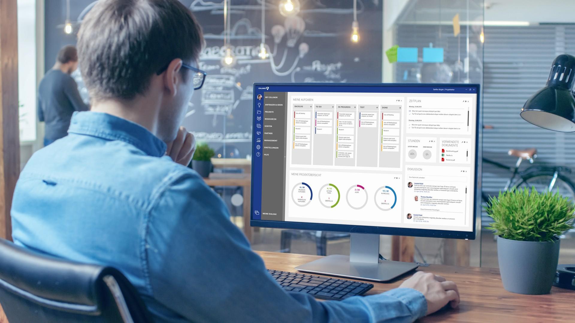 Alle Projekte im Griff: Neues Multiprojektmanagement-Tool Collinor 7 punktet mit klarem Design, Arbeitserleichterung und Vielseitigkeit