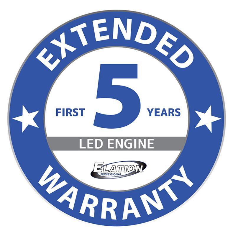 ELATION verlängert die Produktgewährleistung der neuesten LED-Scheinwerfer auf 5 Jahre