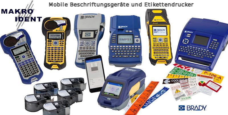 PR-Mobile-Brady-Etikettendrucker Mobile und robuste Etikettendrucker und Beschriftungsgeräte