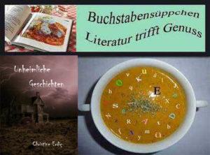 """""""Unheimliche Geschichten"""" von Autorin Christine Erdiç nun auch im Buchstabensüppchen"""