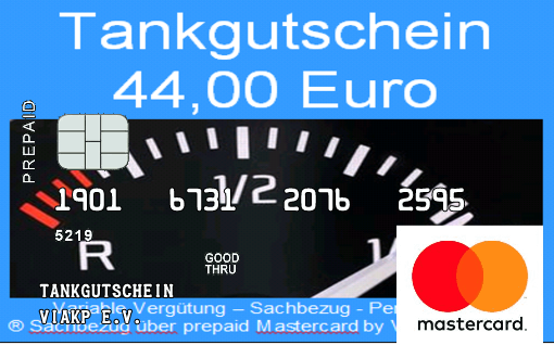 Tankgutschein-über-prepaid-Mastercard-by-VIAKP Steuerfreier Sachbezug für Mitarbeiter