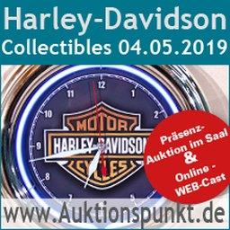 """Pressemitteilung: Erste Harley-Davidson """"Collectibles-Auktion"""" in Europa!"""