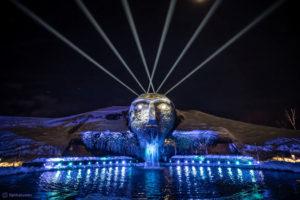 Zuverlässig in Eis und Schnee – Lichtfestival in den Swarovski Kristallwelten erneut mit Proteus Hybrid