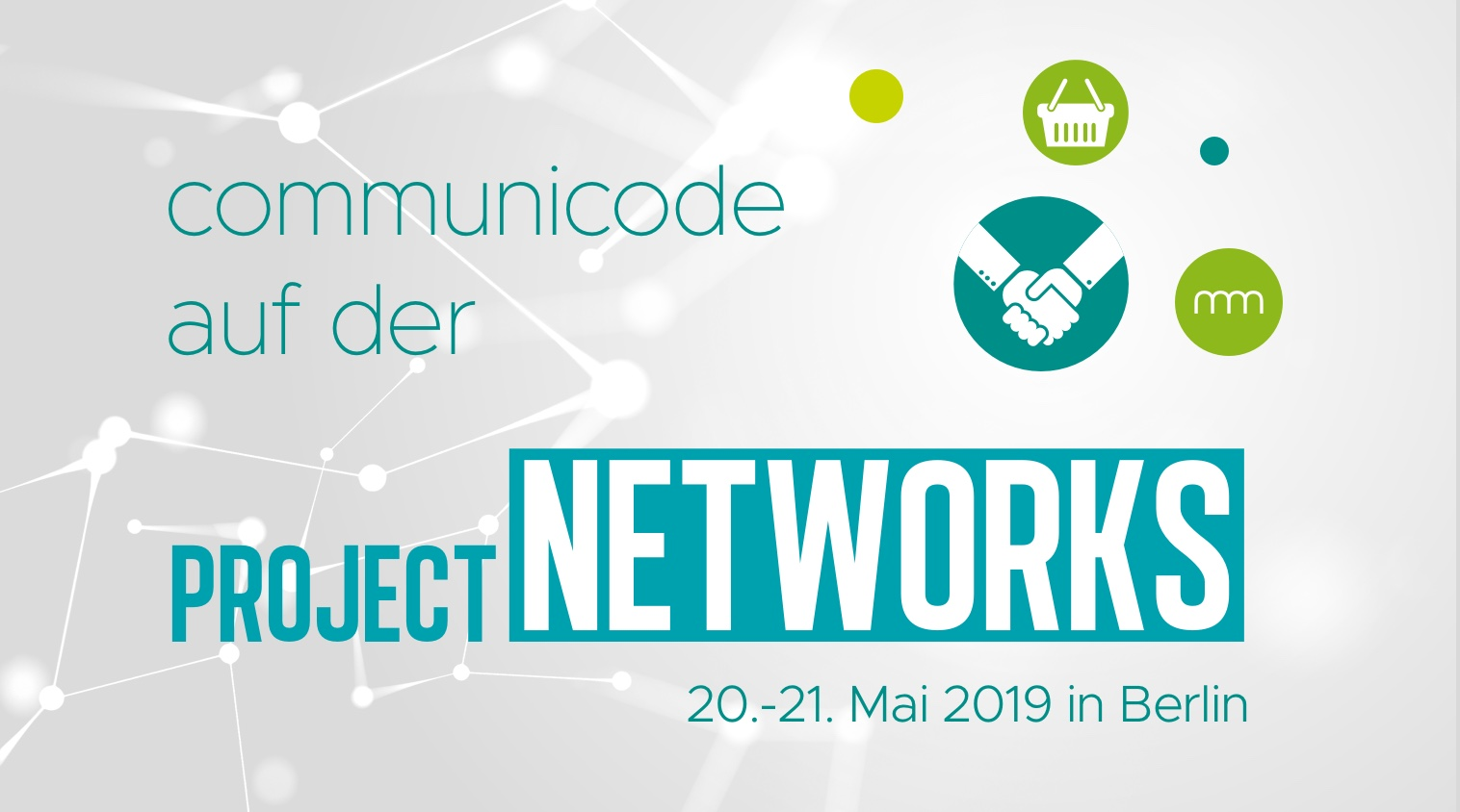 "communicode erneut Partner auf dem Strategiegipfel ""B2B E-Commerce & E-Business"" von project networks"
