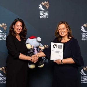 GERMAN INNOVATION AWARD 2019 für Binder Marketing