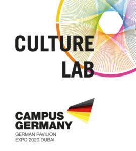 VossFischer_EXPO-Dubai-2020_Logo-Kulturprogramm_RGB_Presse_quer-2-Kopie-270x300 Der Deutsche Pavillon auf der EXPO 2020: VOSS+FISCHER und Mike P. Heisel verantworten das Kulturprogramm in Dubai