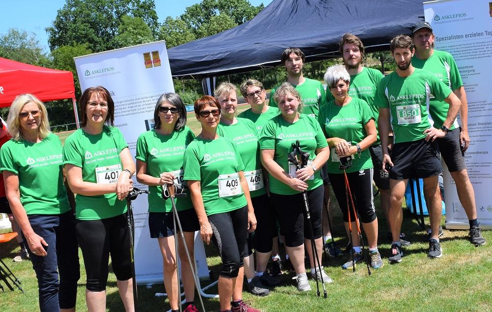 Asklepios Orthopädische Klinik Lindenlohe beim Schwandorfer Charity Stadtlauf