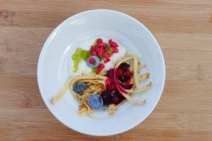 Köstliche Desserts in verschiedenen Variationen von Optimahl