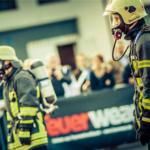 Feuerwear im Einsatz beim KölnTurm Treppenlauf