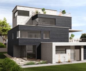 Edle Fassaden mit neuen Strukturen und Farben: Trenddesign von MOCOPINUS