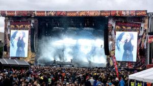 Megaforce installiert Bühne für Trondheim Rocks 2019
