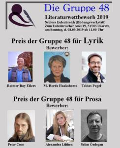 Gruppe 48 – Vierter Literaturwettbewerb in Rösrath