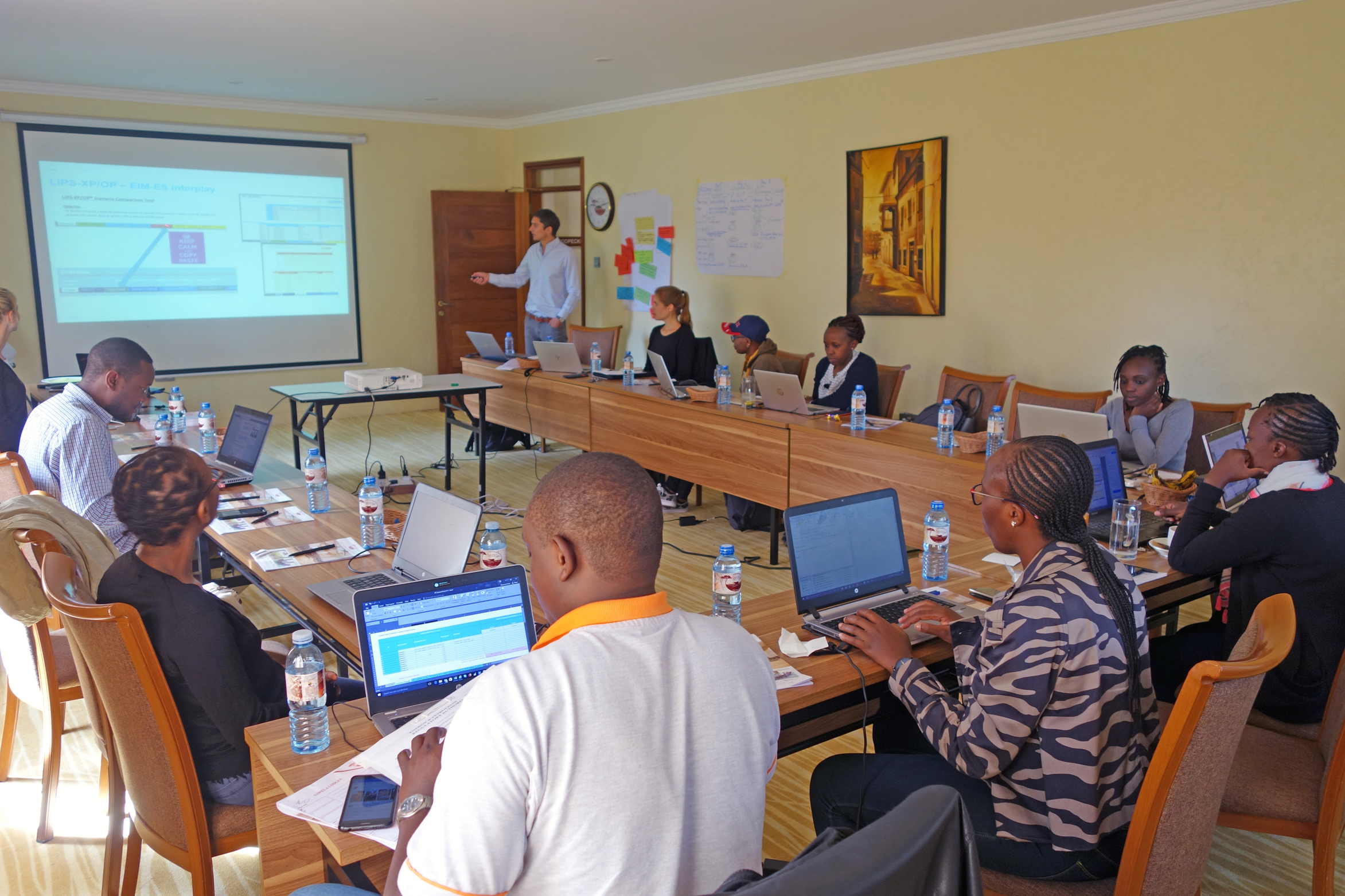 Tractebel training for energy supply planners in Kenya
