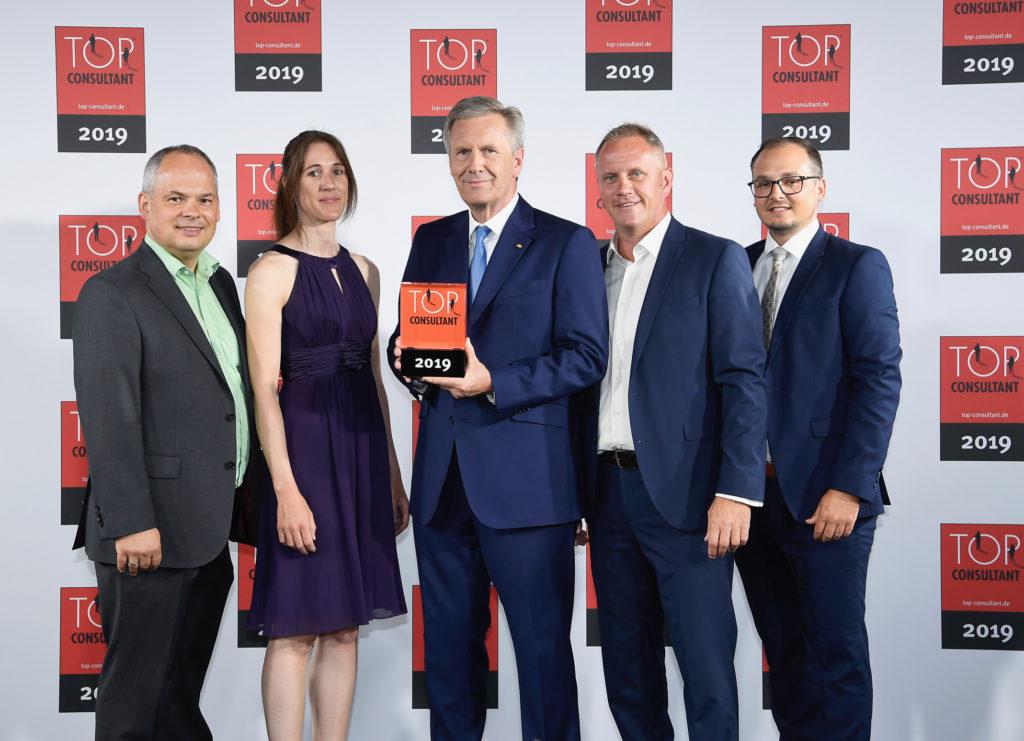 Zum dritten Mal in Folge: expertplace networks group AG als TOP CONSULTANT ausgezeichnet