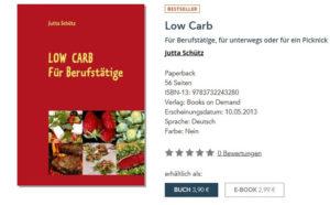 Kochbuch für Berufstätige, die sich bewusst ernähren möchten