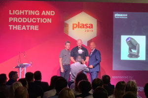 "ELATION Artiste Monet™ gewinnt ""PLASA Award for Innovation"" 2019"