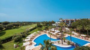 Außenaufnahme-300x169 Das 5 Sterne Precise Resort El Rompido mit 36-Loch Golfplatz  lockt an der andalusischen Küste mit Golfarrangements vom Feinsten!