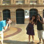 Sprachschule besucht Valencias Stierkampfarena
