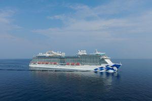 Testfahrten erfolgreich absolviert – Sky Princess steht kurz vor der Indienststellung – Premiere im Mittelmeer