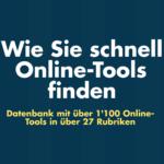 «Die grosse Datenbank der Online-Tools»
