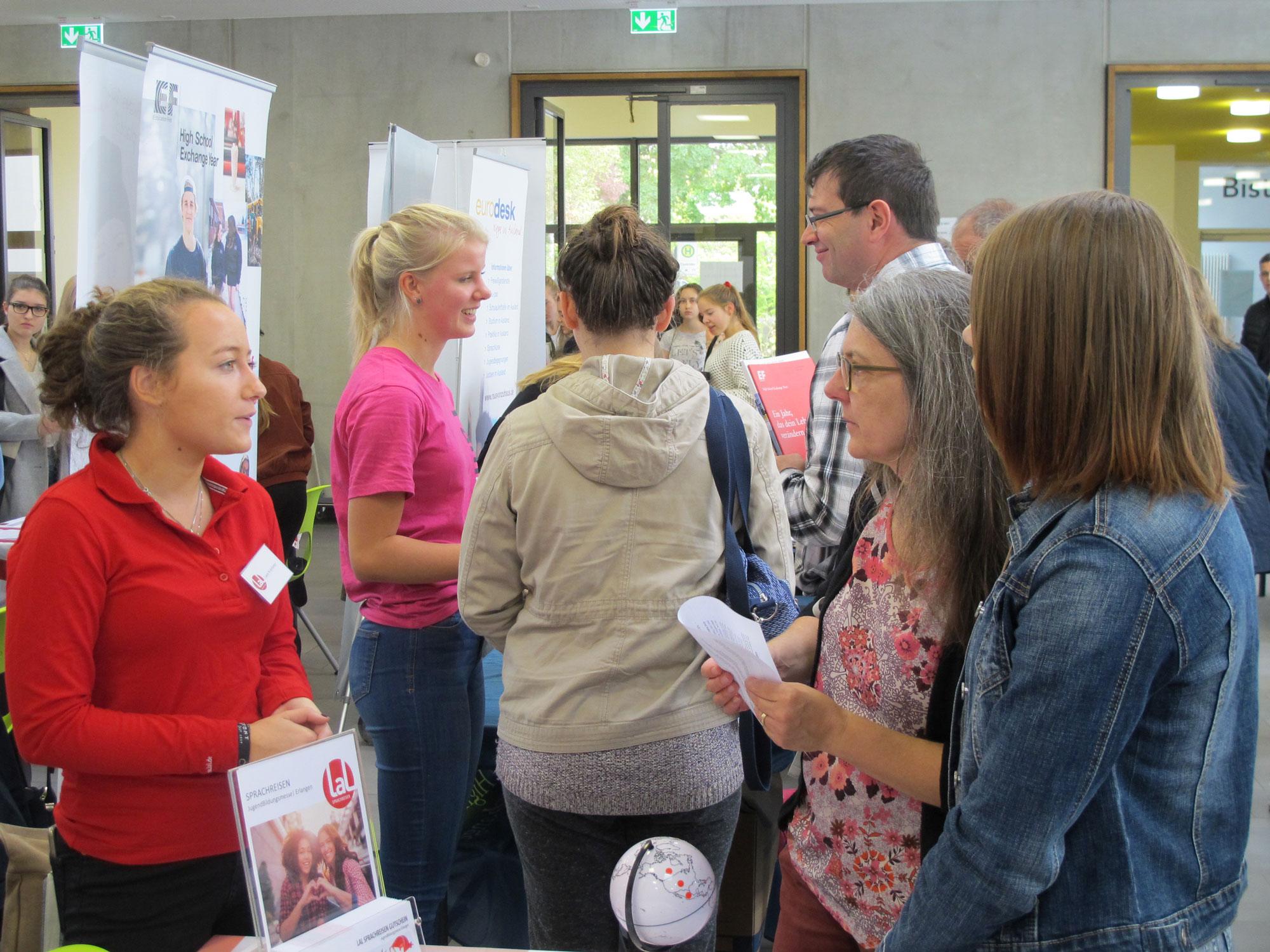 weltweiser · JugendBildungsmesse Erlangen · Messe · Auslandsaufenthalte