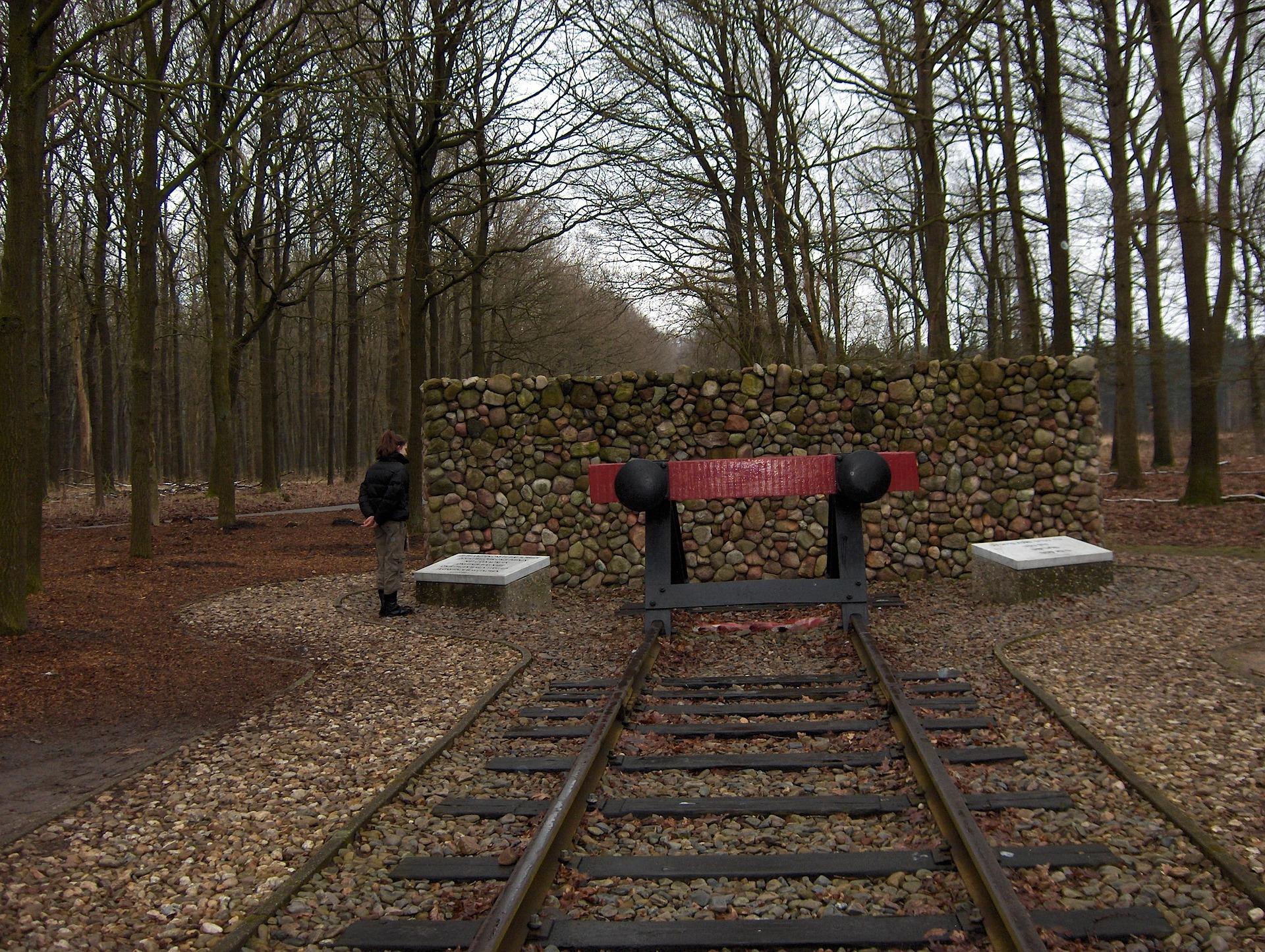 Das frühere NS-Durchgangslager Westerbork in den Niederlanden.