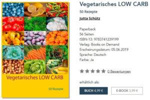 Vegetarische, kohlenhydratarme Gourmetküche
