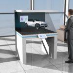 Interaktives Hologramm mit Echtzeit-Personalisierung