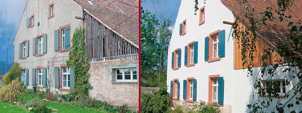 Ökologischer Dämm- und Entfeuchtungsputz von Haga schützt vor feuchten Wänden und Schimmel