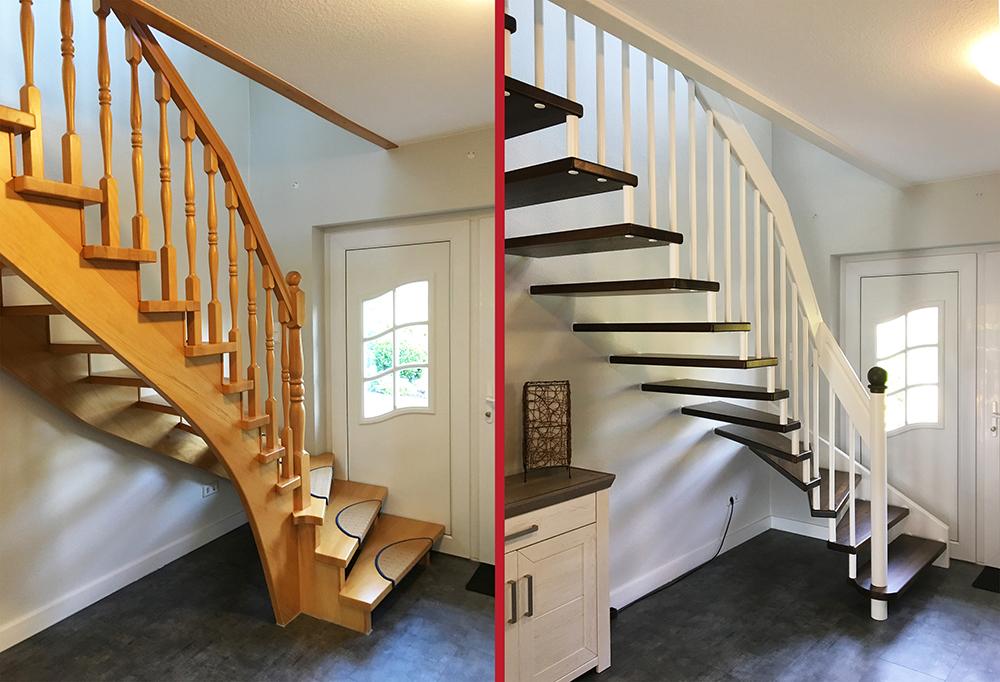 Treppentausch: eine echte Alternative zur Renovierung