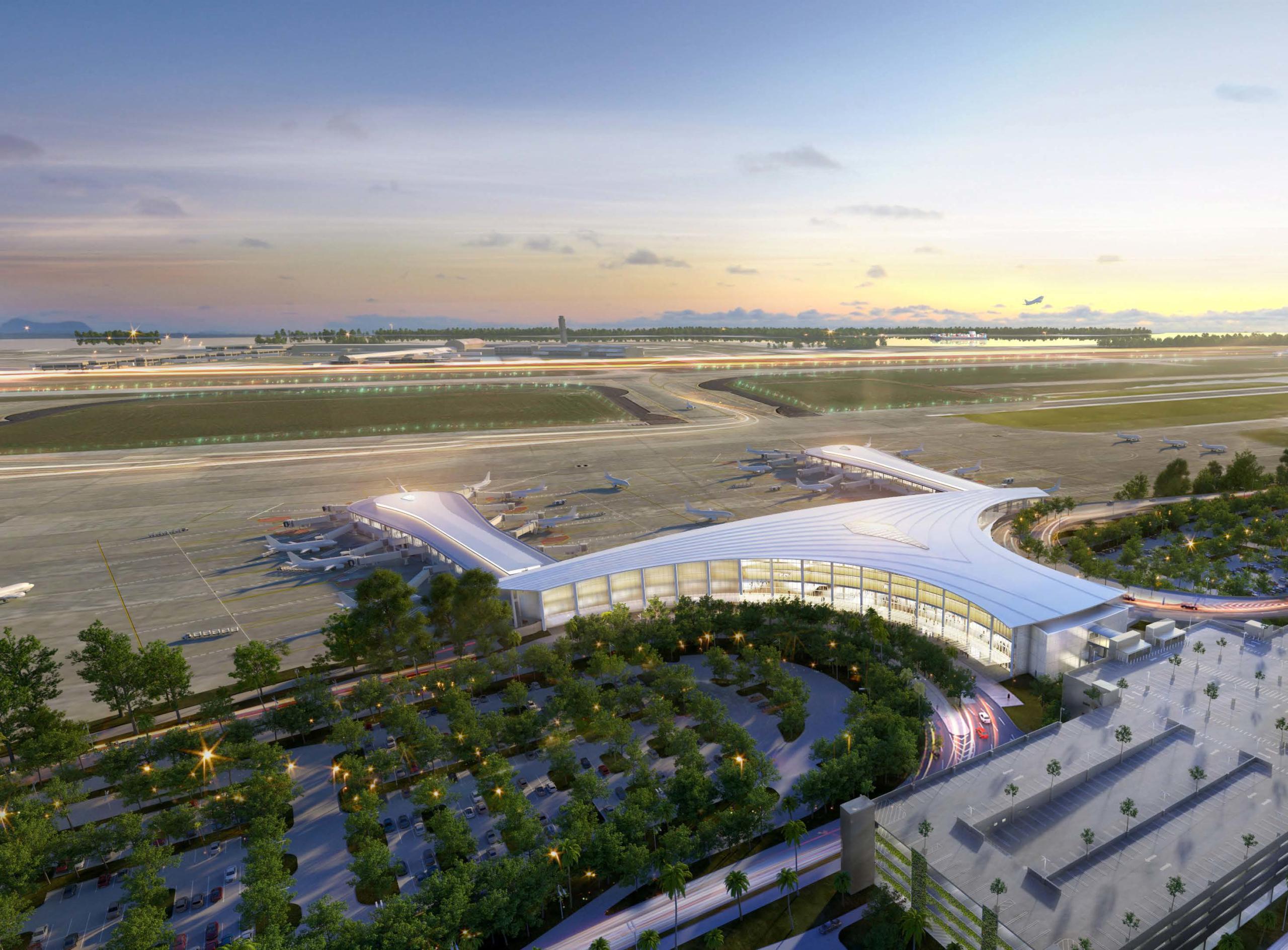 Eröffnung des Louis Armstrong New Orleans International Airport - inar.de