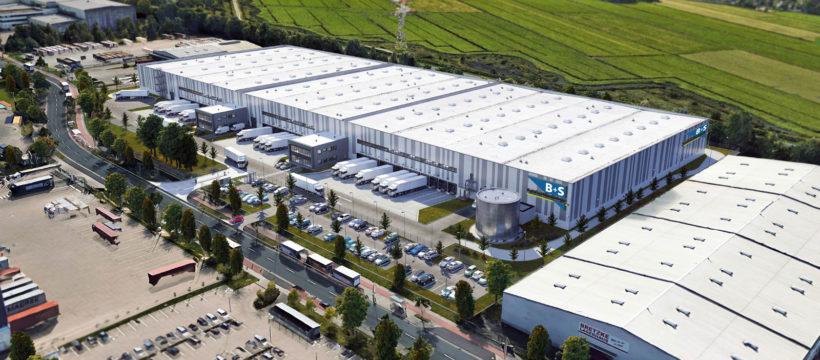 B+S nimmt seinen neuen 30.000 Quadratmeter großen Standort im Bremer GVZ in Betrieb.