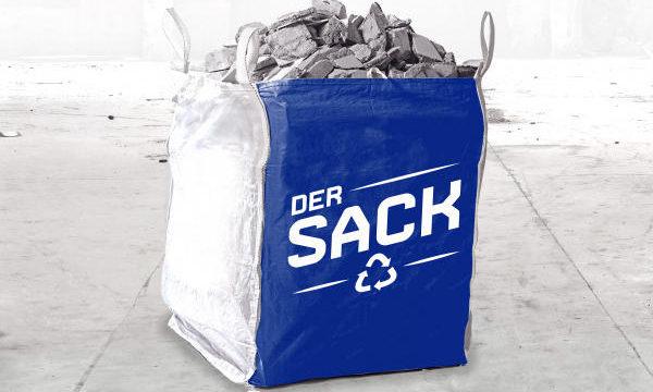 DER SACK - Big Bag für Abfallentsorgung vom Containerdienst RELOGA