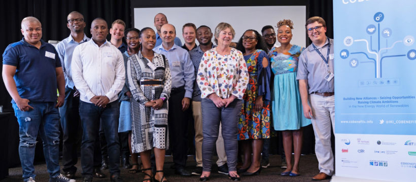 The training participants in Africa learned new methods and tools.