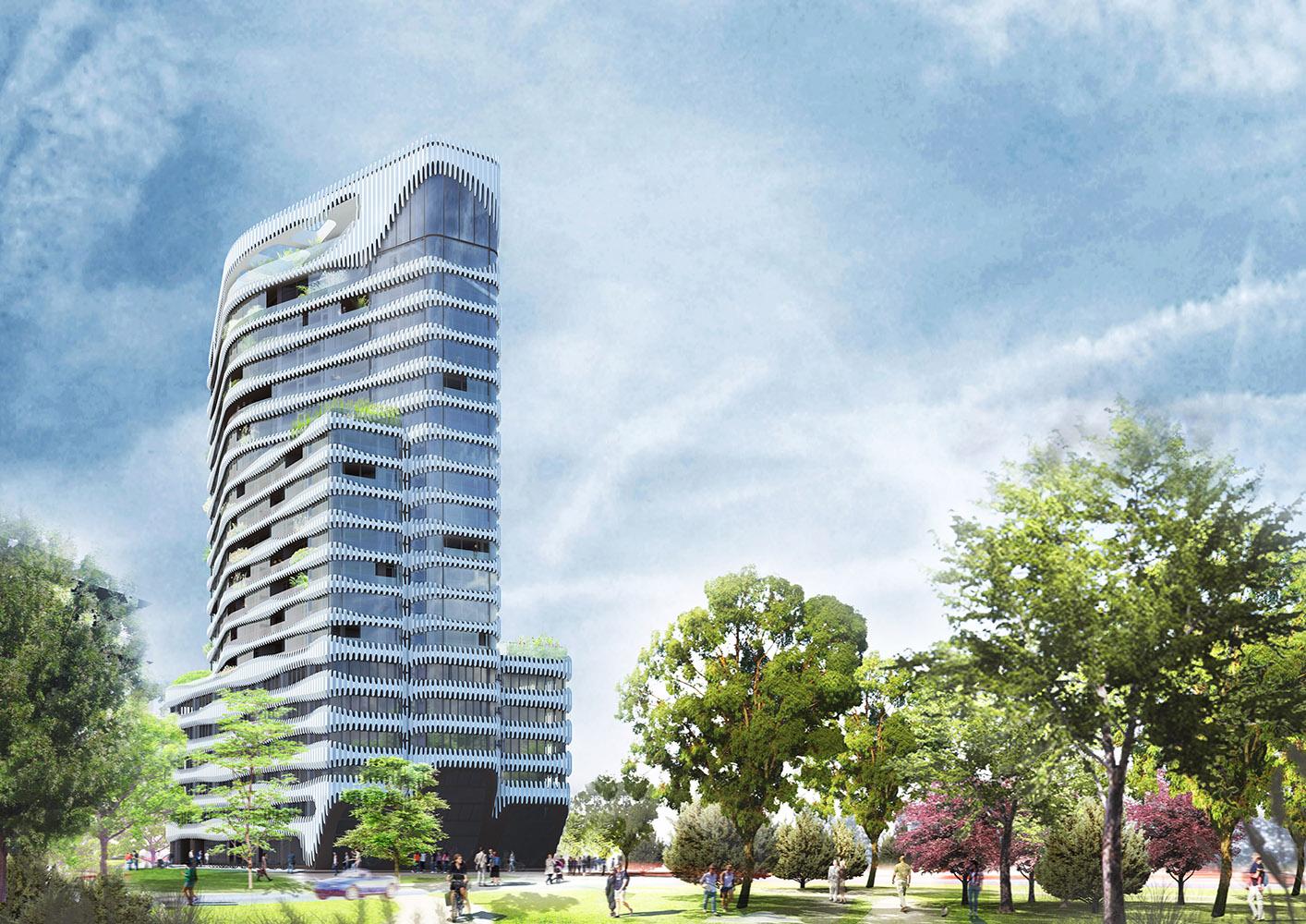 RKM-180302_Suedwest-Tag_Variante3_1000x1000 VELA HOTELS eröffnet Boardinghouse mit 190 Studios und Appartements in Düsseldorf