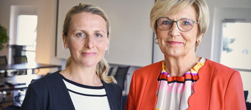 Der Lipsia-Vorstand: Dr. Christina Fleischer (re.), Vorstandsvorsitzende und Vorstand Finanzwirtschaft, und Nelly Keding, Vorstand Wohnungswirtschaft. Copyright: Lipsia