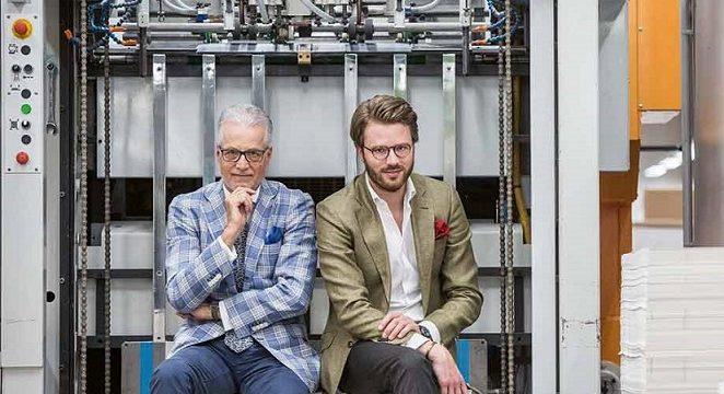 Wolfgang Rolla du Rosey und Huschke Rolla du Rosey in gemeinsamer Sache als Geschäftsführer der terminic GmbH
