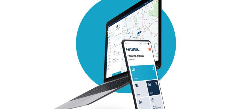 Mit neuer Optik: HABBL App und Webportal werden international, Bildquelle: Fleetboard Logistics GmbH